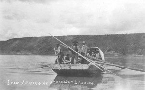 Scow_Arriving_at_Athabasca_Landing